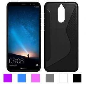 S Line silikonskall Huawei Mate 10 Lite mobil deksel