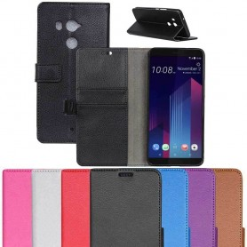 Mobil lommebok 2-kort HTC U11 PLUS mobiltelefon veske