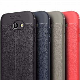 Skinnmønstret TPU-deksel Samsung Galaxy A3 2017 mobildeksel