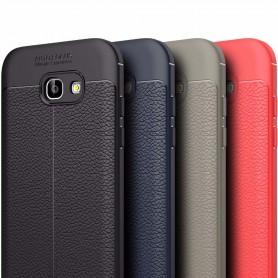 Skinnmønstret TPU-skall Samsung Galaxy A5 2017 mobildeksel