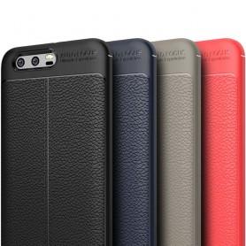 Skinnmønstret TPU-skall Huawei Honor 9 mobil etui