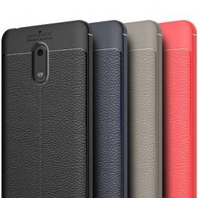 Skinnmønstret TPU-deksel Nokia 6 mobildeksel
