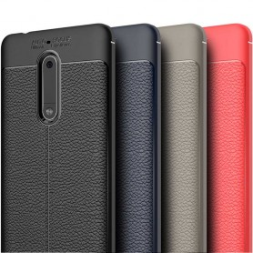 Skinnmønstret TPU-skall Nokia 5 mobilveske caseonline