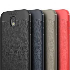 Lærmønstret TPU-skall Samsung Galaxy J3 2017 SM-J330F mobilveske caseonline