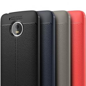 Skinnmønstret TPU-skall Motorola Moto G5 mobiltelefon etui