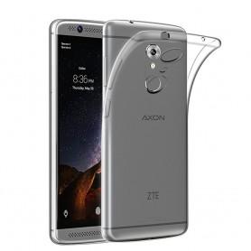 ZTE Axon 7 Silikonetui Gjennomsiktig tpu mobilt skall