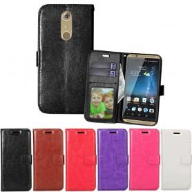 Mobil lommebok 3-kort ZTE Axon 7 mobil deksel tpu veske