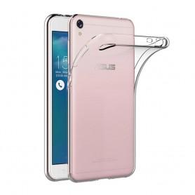 Asus Zenfone Live ZB501KL silikonetui gjennomsiktig mobilskall