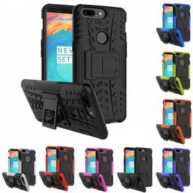 Støtsikker skall med stativ OnePlus 5T mobil deksel