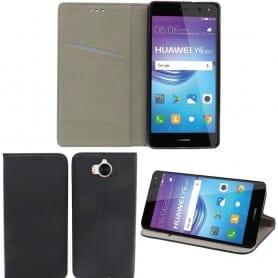 Moozy Smart Magnet FlipCase Huawei Y6 2017 mobilt skall