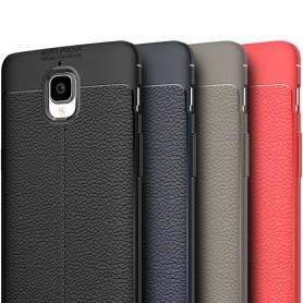 Lærmønstret TPU-deksel OnePlus 3 / 3T mobil deksel