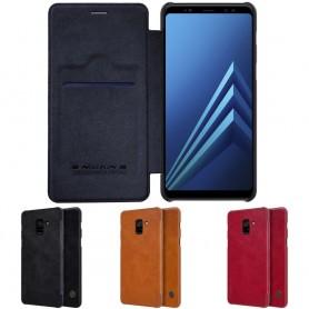 Nillkin Qin FlipCover Samsung Galaxy A8 Plus 2018 FlipCover