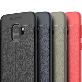 Skinnmønstret TPU-skall Samsung Galaxy S9 SM-G960 mobil deksel caseonline