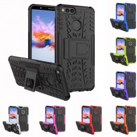 Støtsikker skall med rack Huawei Honor 7X BND-L21 CaseOnline