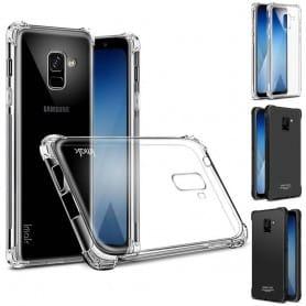 IMAK Shockproof silikonskall Samsung Galaxy A8 Plus 2018 SM-A730 mobil shell caseonline