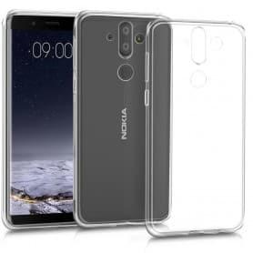 Nokia 8 Sirocco Silikonetui Gjennomsiktig mobilskall