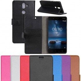 Mobil lommebok 2-kort Nokia 8 Sirocco mobilveske caseonline