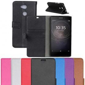 Mobil lommebok 2-kort Sony Xperia L2 H4311 mobiltelefon veske