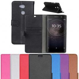 Mobil lommebok 2-kort Sony Xperia XA2 H4133 mobiltelefon veske