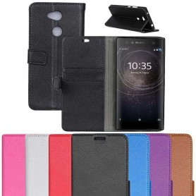 Mobil lommebok 2-kort Sony Xperia XA2 Ultra H4233 mobiltelefon veske