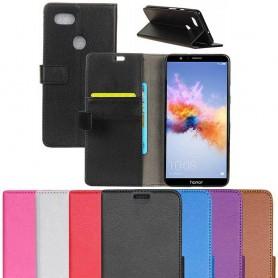 Mobil lommebok 2-kort Huawei Honor 7X BND-L21 mobildeksel caseonline