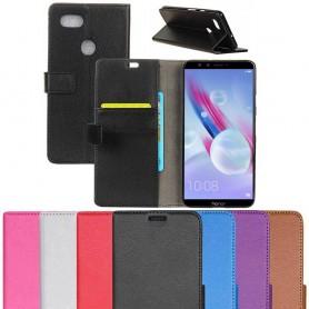 Mobil lommebok 2-kort Huawei Honor 9 Lite LLD-AL10 mobiltelefonveske