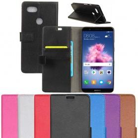 Mobil lommebok 2-kort Huawei P Smart beskyttelsesetui for mobil deksel