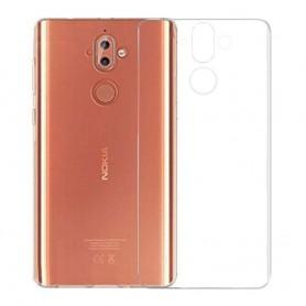 Clear Hard Case Nokia 9 mobildeksel gjennomsiktig