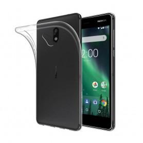 Nokia 2 Silikonetui Gjennomsiktig mobilskall