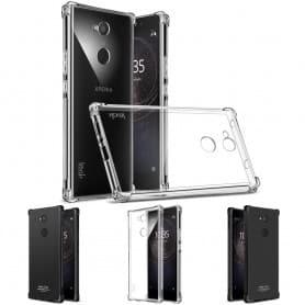 IMAK Shockproof silikonetui Shockproof Sony Xperia L2 H4311 mobiltelefon skall