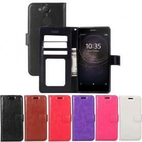 Mobil lommebok 3-kort Sony Xperia L2 H4311 mobil deksel