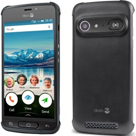 Doro Liberto 8040 Deksel - Svart beskyttelsesetui for mobil deksel