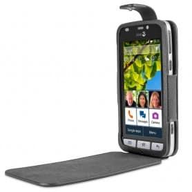 Doro Liberto 820 FlipCover - FlipCover svart mobiltelefon