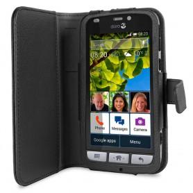 Doro Liberto 820 Book Case - Svart beskyttelsesetui for mobiltelefoner