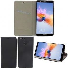 Moozy Smart Magnet FlipCase Huawei Honor 7X mobiltelefon deksel