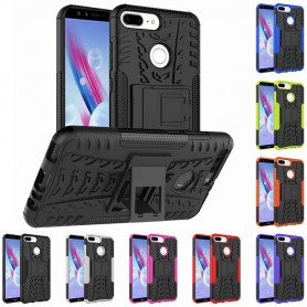 Støtsikker mobilskall med rack Huawei Honor 9 Lite LLD-TL10 CaseOnline.se