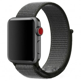 Apple Watch 38mm Nylon armbånd Dark Olive Watch Armbånd