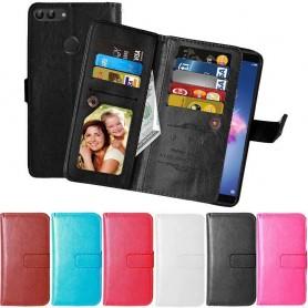 Mobil lommebok Dobbelt vipp Flexi Huawei Honor 9 Lite veske til mobil