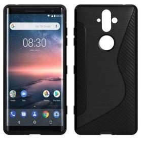 Mobiltelefon S Line silikon deksel til Nokia 8 Sirocco