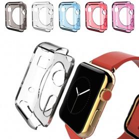 Apple Watch 38mm silikonskall Diverse farger Beskyttelsesutstyr CaseOnline.se