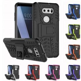 Mobilt skall Sjokkbestandig skall med silikonskall LG V30 etui