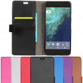 Mobil lommebok 2-kort Google Pixel mobildeksel vippdeksel