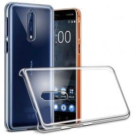 Mobiltelefon Clear Hard Case Nokia 8 TA-1004