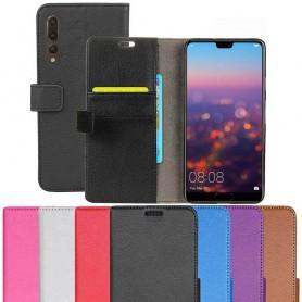 Mobil lommebok 2-kort Huawei P20 Pro beskyttelsesdeksel for mobil deksel