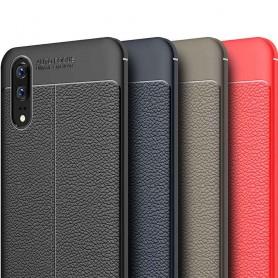 Skinnmønstret TPU-skall Huawei P20 mobilskall silikon