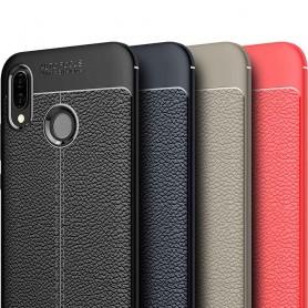 Skinnmønstret TPU-skall Huawei P20 Lite mobiltelefon deksel silikon