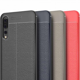 Skinnmønstret TPU-skall Huawei P20 Pro mobilt skall silikon deksel