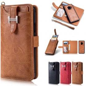 Multi Wallet 3i1 9-kort Samsung Galaxy S9 Mobildeksel skinn