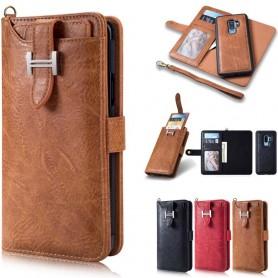 Multi Wallet 3i1 9-kort Samsung Galaxy S9 Plus mobil deksel