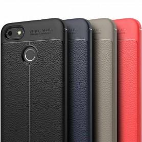 Lærmønstret TPU-deksel Huawei P9 Lite Mini mobil deksel